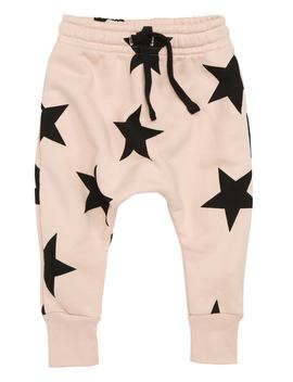 Star Print Sweatpants by Nununu