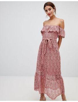Na Kd  Lace Off Shoulder Dress by Dress