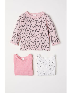 3er-pack-jerseyshirts by h&m
