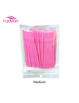 fadvan-100pc_lot-micro-brushes--eye-lash-glue-brushes-eyelashes-extension-lint-free-disposable-applicators-sticks-makeup-tools by fadvan