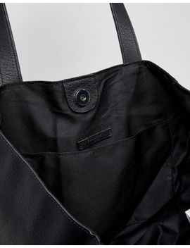 Pull&Bear Tote Bag In Black by Pull&Bear