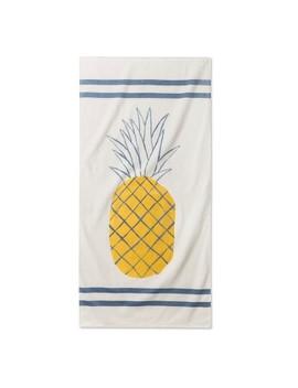 Junk Food Disney Pineapple Beach Towel by Junk Food