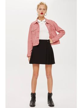 Popper Mini Kilt by Topshop