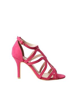 Dorothy Perkins   Wide Fit Pink Baxter Coverage Sandals by Dorothy Perkins