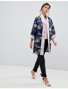 Ted Baker Chinoiserie Jacquard Kimono Coat by Ted Baker