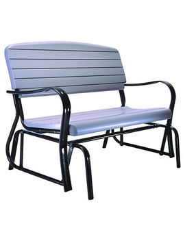Glider Bench   Gray   Lifetime by Lifetime