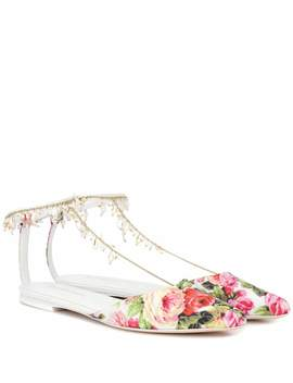 Goldentime Embellished Slippers by Zimmermann