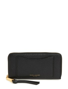 Standard Continental Leather Wallet by Marc Jacobs