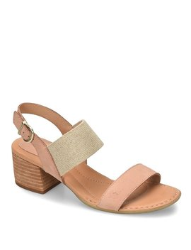 Opal Stretch Block Heel Sandals by Generic