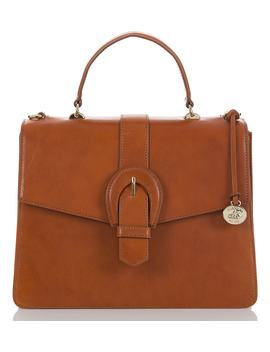 Gabriella Leather Satchel by Brahmin