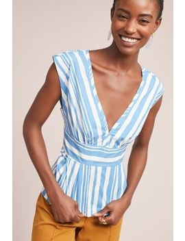 Catamaran Striped Top by Tracy Reese X Anthropologie