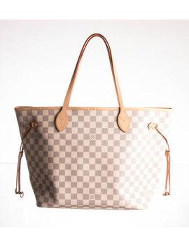 Louis Vuitton Damier Azur Canvas Neverfull Mm Bag by Louis Vuitton