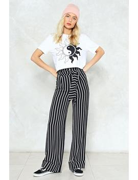 Mark My Words Striped Pants by Nasty Gal