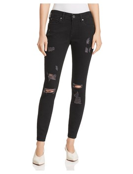 Jennie Curvy Skinny Jeans In Bold Bedrock by True Religion