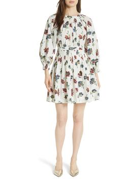 Joelle Floral Print Dress by Ulla Johnson