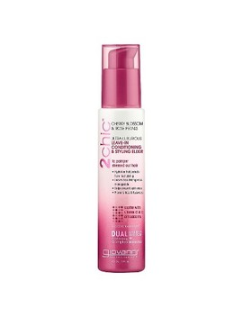 Giovanni 2chic® Cherry Blossom & Rose Petals Leave In Conditioning & Styling Elixir   4 Oz by Giovanni
