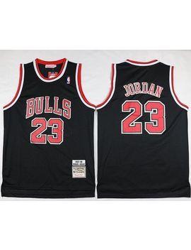 Nba Michael Jordan #23 Chicago Bulls Retro Black Swingman Jersey   S/M/L by Ebay Seller