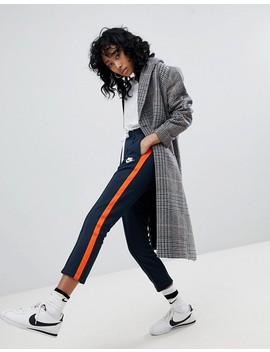Nike Polyknit Track Pants In Blue And Orange by Asos