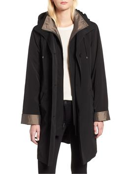 Detachable Hood & Liner Raincoat by Gallery