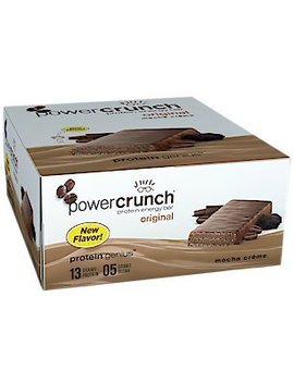Bionutritional Power Crunch Bars Mocha Creme, 1.4 Oz, 12 Bars by Power Crunch