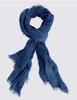 Crinkle Scarf by Marks & Spencer