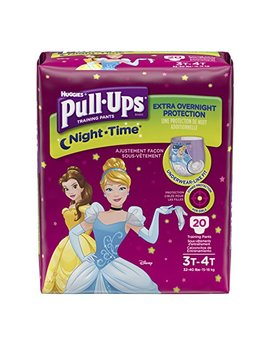 Huggies Pull Ups Nighttime Training Pants   Girls   3 T 4 T   20 Ct by Huggies