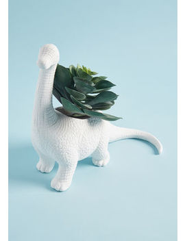 The Rawr The Better Planter In Brachiosaurus by Kikkerland