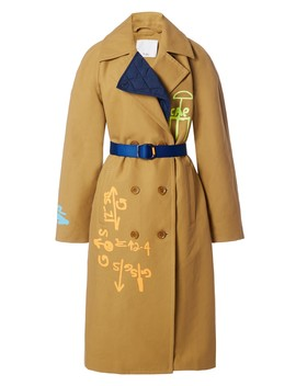 Screen Printed Trench by Tibi