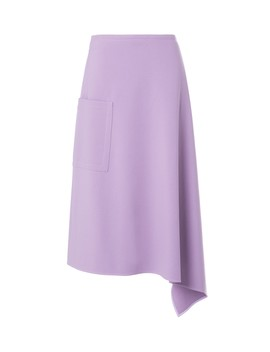 Bond Stretch Knit Origami Wrap Skirt by Tibi