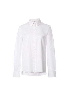 Tech Poplin Tailored Shirt by Tibi