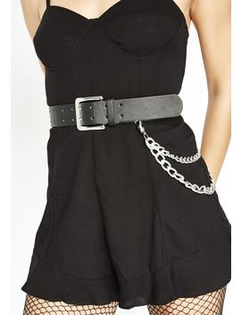Yank My Chain Belt by Fame Accessories