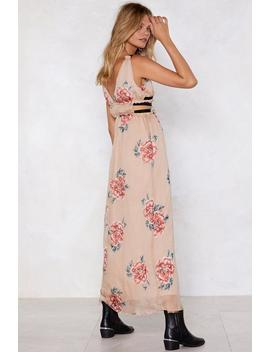 We Have A Bond Maxi Dress by Nasty Gal