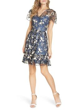 Bridget Embroidered Dress by Gal Meets Glam Collection