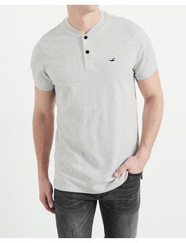 Blade Collar Stretch Pique Polo by Hollister