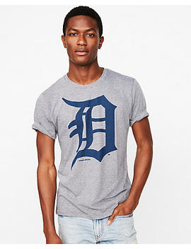 Homage Detroit Tigers Crew Neck Tee by Express