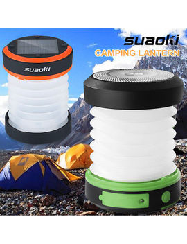 Collapsible Solar Handcrank Camping Led Lantern Usb Battery Powered Lamp Portable by Suaoki