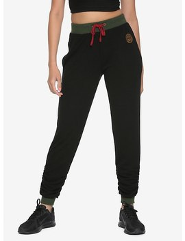 Her Universe Destination Disney Mulan Scrunch Jogger Pants by Hot Topic