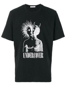 Undercover T Shirt Mit Print Home Herren Kleidung T Shirts Jeans Mit Schmalem Schnitt T Shirt Mit Print by Undercover