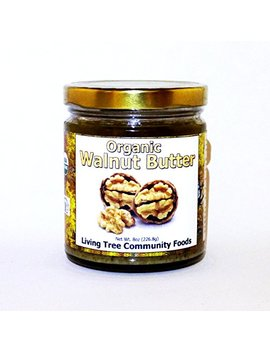 Living Tree Alive Organic Walnut Butter   8 Ounce by Living Tree Community Foods
