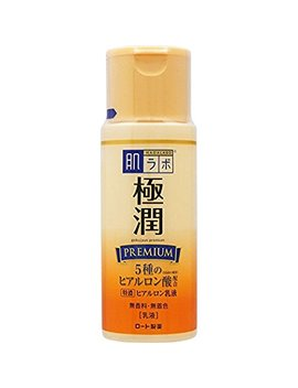 Premium Hyaluronic Acid Milky Lotion 4.7floz/140ml Rohto Hadalabo Gokujyun by Hada Labo 肌研