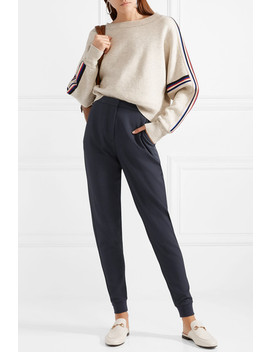 Textured Stretch Crepe Tapered Pants by See By Chloé