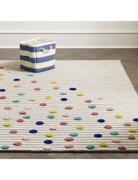 Sprinkles Striped Rug by Crate&Barrel