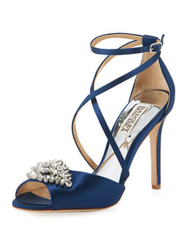 Tatum Embellished High Sandal by Badgley Mischka