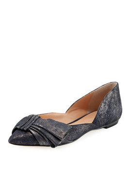 Simona Pointy Toe Ballet Flat by Sigerson Morrison