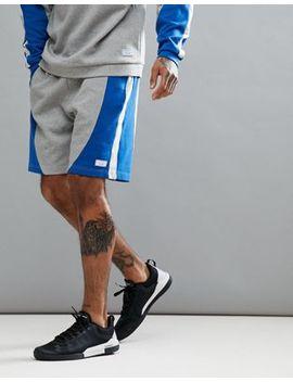 Jack Wills Sporting Goods Kidmore Colour Block Sweat Short In Grey by  Jack Wills Sporting Goods