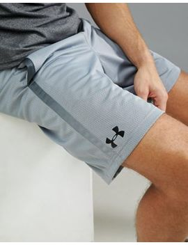 Under Armour Training Tech Mesh Shorts In Grey 1271940 035 by Under Armour