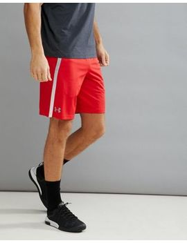 Under Armour Training Tech Mesh Shorts In Red 1271940 600 by Under Armour