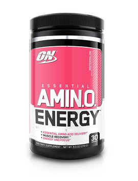 Optimum Nutrition Amino Energy, Watermelon, Preworkout And Essential Amino Acids With Green Tea And Green Coffee Extract, 30 Servings by Optimum Nutrition