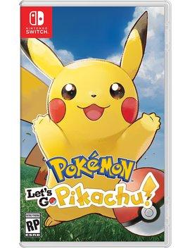 Pokemon: Let's Go, Pikachu! by Nintendo