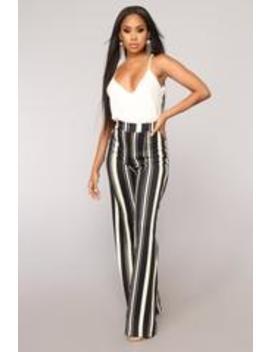 Vanessa High Rise Pants   Royal by Fashion Nova